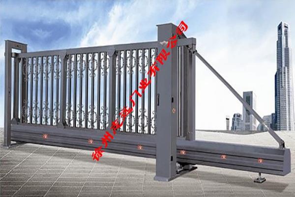 铝合金悬浮门